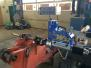 Mobile Bohr- und Schweißtechnik